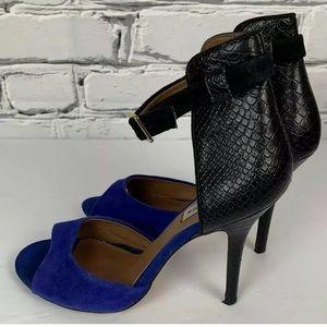 Steve Madden Ankle Strap Dress Heels Size 8M